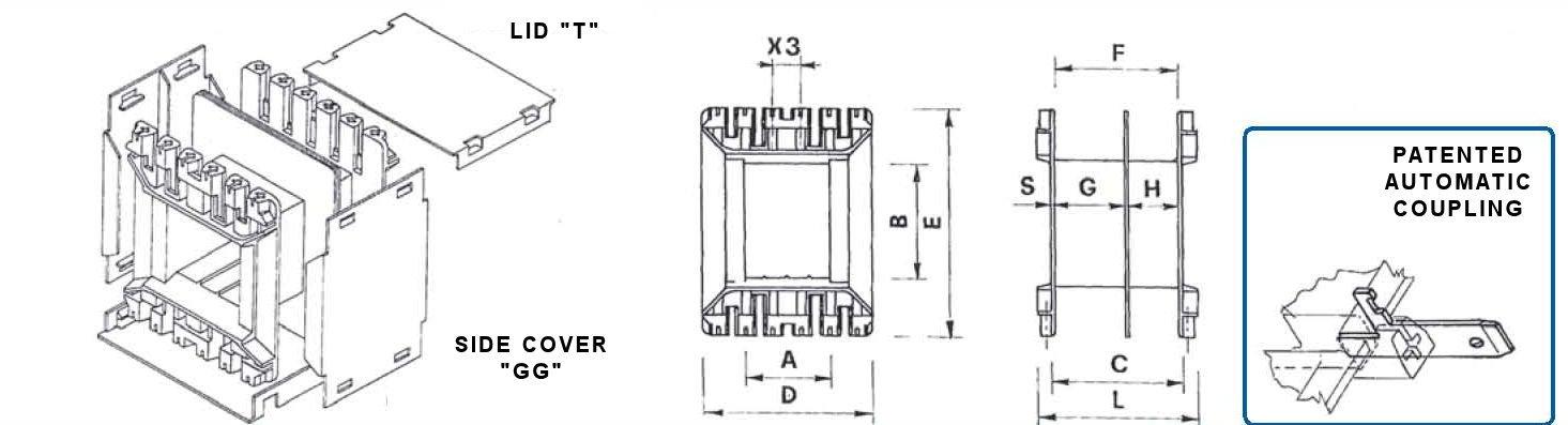 EI120 Bobbin Flange Detail