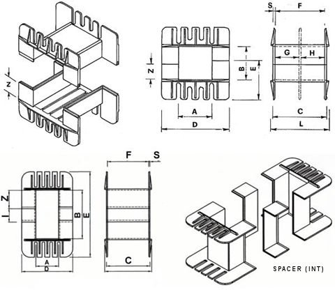 Bobbin Flange Dimensions