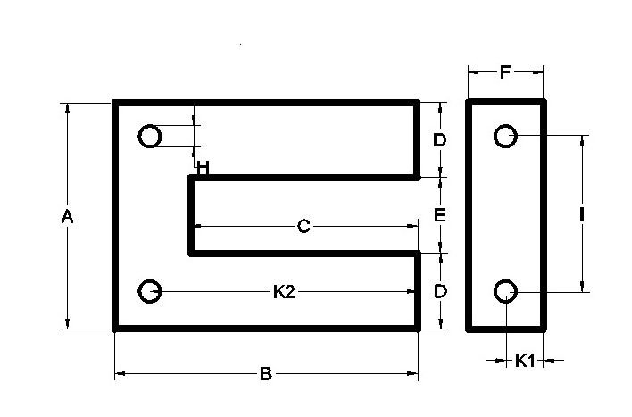 U+I lamination outline